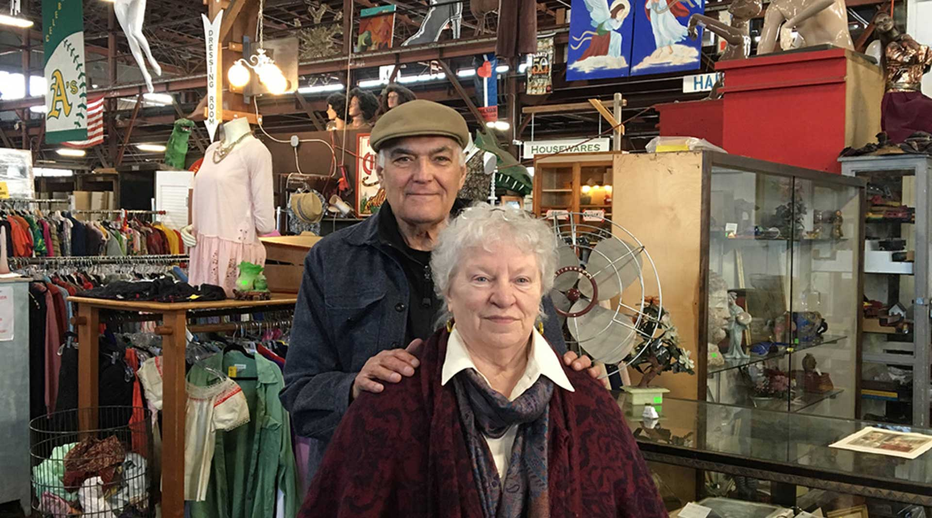 Dan and Mary Lou, Retiring Owners of Urban Ore in California